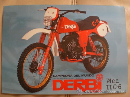 Folleto publicidad derbi rabasa campeona del mu comprar for Catalogo derbi