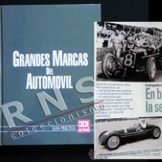 Coches y Motocicletas: GRANDES MARCAS DEL AUTOMÓVIL - HISTORIA COCHES - ELEMENTOS HISTÓRICOS DE CADA MARCA TRANSPORTE LIBRO. Lote 33679743
