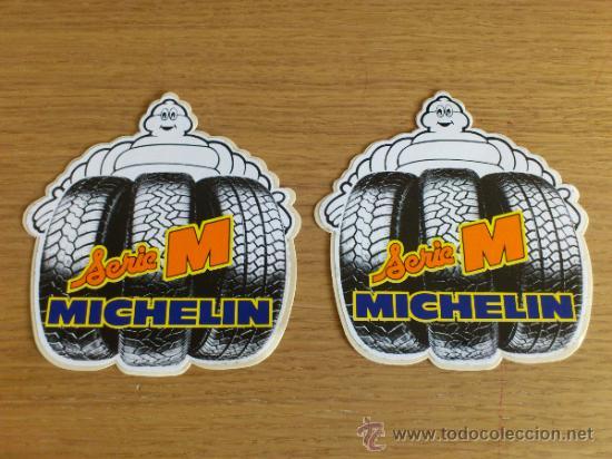 Coches y Motocicletas: Lote de pegatinas Adhesivos de Michelin 5 unidades - Foto 5 - 33952587
