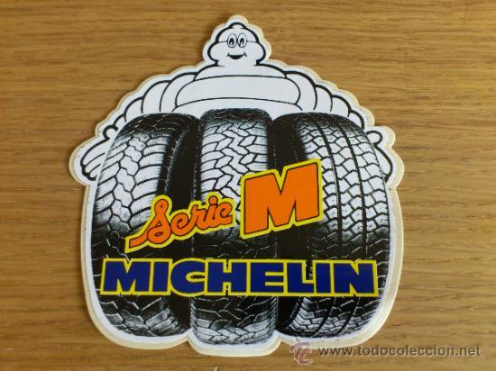 Coches y Motocicletas: Lote de pegatinas Adhesivos de Michelin 5 unidades - Foto 4 - 33952587
