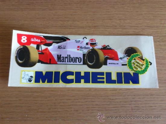 Coches y Motocicletas: Lote de pegatinas Adhesivos de Michelin 5 unidades - Foto 2 - 33952587