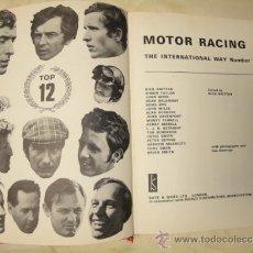 Coches y Motocicletas: LIBRO AUTOMOVIL MOTOR RACING INTERNATIONAL WAY NUMBER 1 NICK BRITTAN 1970. Lote 33991885