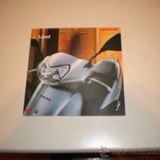 Coches y Motocicletas: FOLLETO PUBLICITARIO HONDA LEAD . Lote 34101832