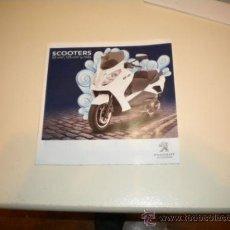 Coches y Motocicletas: FOLLETO PUBLICITARIO SCOOTER PEUGEOT GENERAL 50 -125 C.C.. Lote 34101856