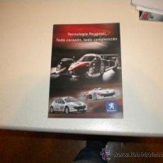 Coches y Motocicletas: FOLLETO PUBLICITARIO PEUGEOT COMPETICIÓN . Lote 34101864