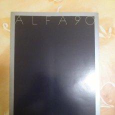 Coches y Motocicletas: CATALOGO COMERCIAL ALFA ROMEO 90. Lote 34341948