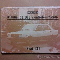 Coches y Motocicletas: CATALOGO DE SEAT SUPER MIRAFIORI . Lote 34150823
