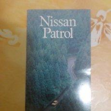 Coches y Motocicletas: CATALOGO COMERCIAL NISSAN PATROL EN CASTELLANO. Lote 54514274