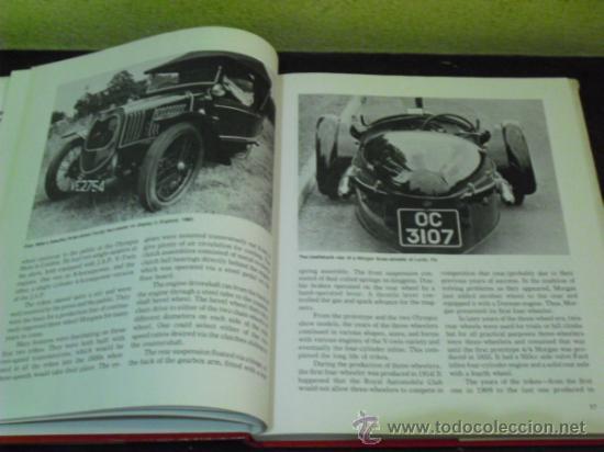 Coches y Motocicletas: MORGAN'S - HISTORIA DE LA MARCA DE AUTOMOVILES -( PRIDE OF THE BRITISH - 1.982 -) - Foto 15 - 34310065