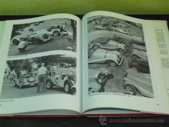 Coches y Motocicletas: MORGAN'S - HISTORIA DE LA MARCA DE AUTOMOVILES -( PRIDE OF THE BRITISH - 1.982 -) - Foto 6 - 34310065