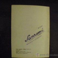 Coches y Motocicletas: GUIA DEL CICLISTA - SANROMÁ - 1965. Lote 34376411