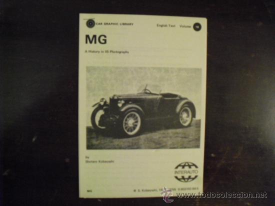 Coches y Motocicletas: M. G. - HISTORIA EN 115 FOTOS - 1977 - Foto 3 - 34485775