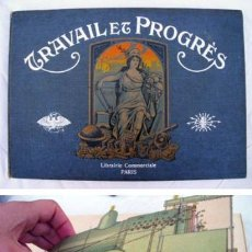 Coches y Motocicletas: ATLAS DE MODÈLES DÉMONTABLES DE CONSTRUCTIONS MODERNES. 1907. Lote 34971372