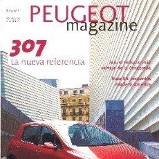 Coches y Motocicletas: PEUGEOT 307 PEUGEOT MAGAZINE. Lote 34968631