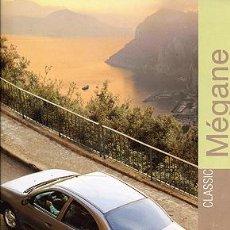 Coches y Motocicletas: RENAULT MEGANE CATALOGO MARCA. Lote 162517069