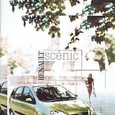 Coches y Motocicletas: RENAULT MEGANE SCENIC CATALOGO MARCA. Lote 34978329