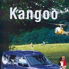 Coches y Motocicletas: RENAULT KANGOO CATALOGO MARCA. Lote 34978905