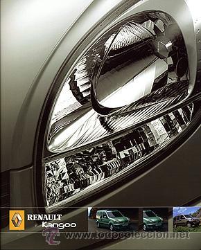 RENAULT KANGOO CATALOGO MARCA (Coches y Motocicletas Antiguas y Clásicas - Catálogos, Publicidad y Libros de mecánica)