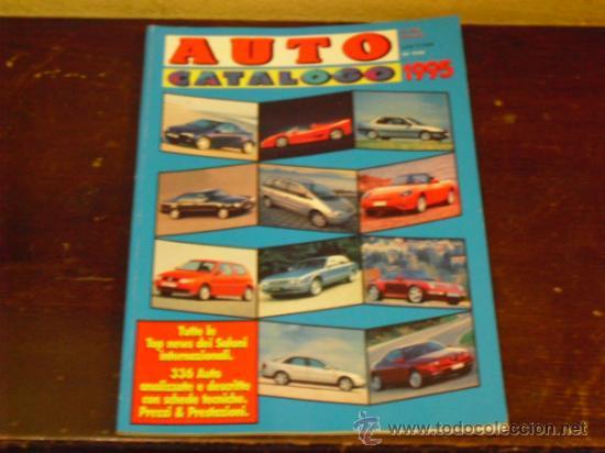 AUTO CATALOGO - 1995 - (ITALIANO) (Coches y Motocicletas Antiguas y Clásicas - Catálogos, Publicidad y Libros de mecánica)