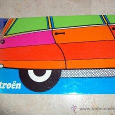 Coches y Motocicletas: ANTIGUO CATALOGO DEL CITROEN BREAK 3 CV. Lote 35074670