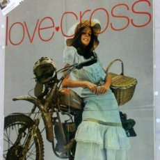 Coches y Motocicletas: CIRCA 1970.- AMF HARLEY -DAVIDSON 125 R/C.-..... IL MOLTOCROSS.- LOVE CROSS. Lote 35457170
