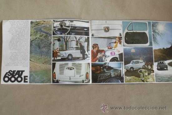 Coches y Motocicletas: Catálogo SEAT 600. 1970. - Foto 3 - 35624015
