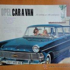 Autos und Motorräder - CATALOGO TECNICO OPEL CARAVAN GENERAL MOTORS AÑOS 50 - 35607957