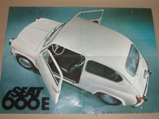 Coches y Motocicletas: Catálogo SEAT 600. 1970. - Foto 4 - 35624015