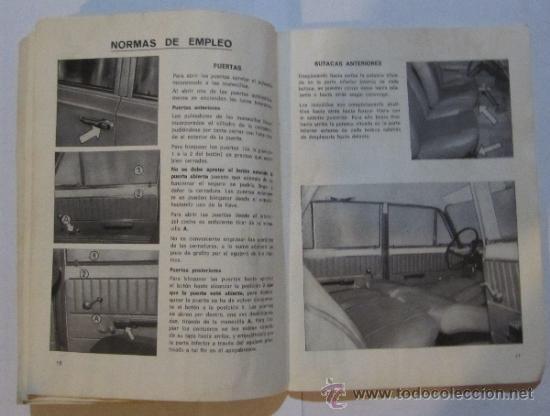 Coches y Motocicletas: SEAT. 124 D. USO Y ENTRETENIMIENTO. BARCELONA, 1971. - Foto 2 - 36047478