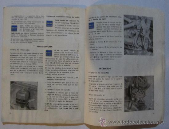 Coches y Motocicletas: SEAT. 124 D. USO Y ENTRETENIMIENTO. BARCELONA, 1971. - Foto 3 - 36047478