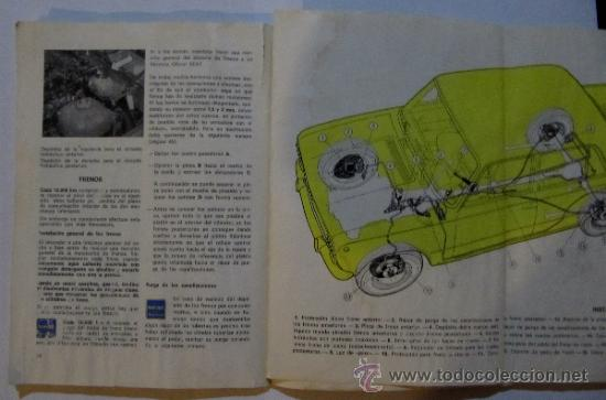 Coches y Motocicletas: SEAT. 124 D. USO Y ENTRETENIMIENTO. BARCELONA, 1971. - Foto 4 - 36047478