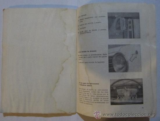 Coches y Motocicletas: SEAT. 124 D. USO Y ENTRETENIMIENTO. BARCELONA, 1971. - Foto 5 - 36047478
