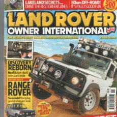 Coches y Motocicletas: LAND ROVER OWNER INTERNATIONAL: RANGE ROVER CLASSIC; ETC... . Lote 35768298