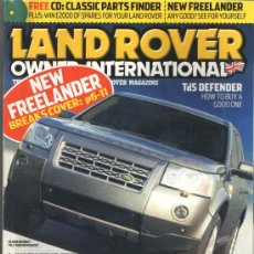Coches y Motocicletas: LAND ROVER OWNER INTERNATIONAL: LAND ROVER DEFENDER TD5; LAND ROVER SERIE I; ETC... . Lote 35768360