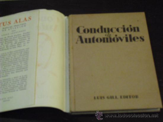 Coches y Motocicletas: CONDUCCION DE AUTOMÓVILES - 1941 - - Foto 2 - 35802426