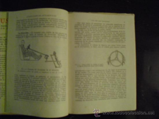 Coches y Motocicletas: CONDUCCION DE AUTOMÓVILES - 1941 - - Foto 5 - 35802426