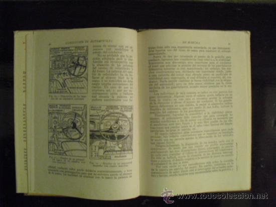 Coches y Motocicletas: CONDUCCION DE AUTOMÓVILES - 1941 - - Foto 6 - 35802426