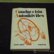 Coches y Motocicletas: CONDUCCION DE AUTOMÓVILES - 1941 -. Lote 35802426