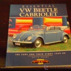Coches y Motocicletas: VW BEETLE CABRIOLET - 1949 - 80 -. Lote 91101389