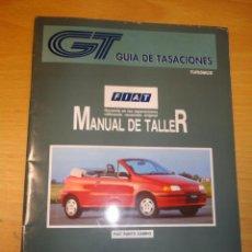 Coches y Motocicletas: MANUAL DE TALLER FIAT PUNTO CABRIO JUNIO 1996 GUIA DE TASACIONES. Lote 35941905