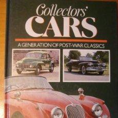 Coches y Motocicletas: LIBRO DE COCHES CLÁSICOS COLLECTORS' CARS. Lote 153619382
