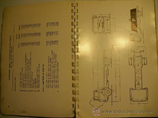 Coches y Motocicletas: MANUAL DE INSTRUCCIONES SERIE EBRO P-200 (NO PEGASO) - Foto 3 - 35990949