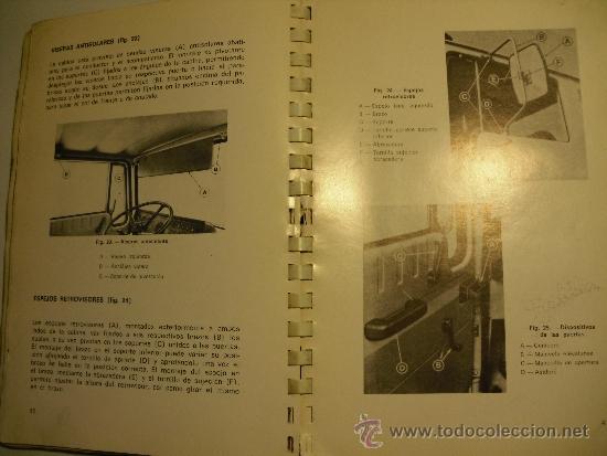 Coches y Motocicletas: MANUAL DE INSTRUCCIONES SERIE EBRO P-200 (NO PEGASO) - Foto 4 - 35990949