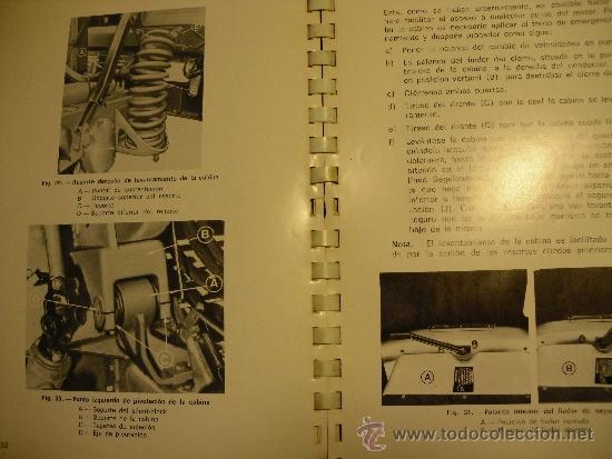Coches y Motocicletas: MANUAL DE INSTRUCCIONES SERIE EBRO P-200 (NO PEGASO) - Foto 5 - 35990949