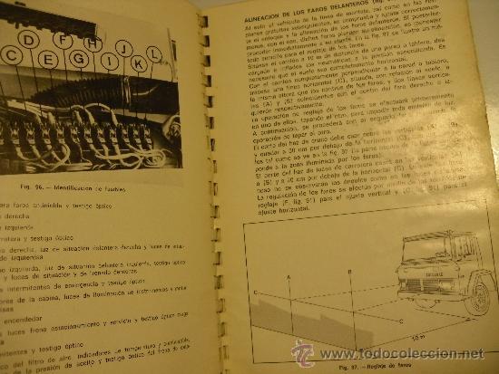 Coches y Motocicletas: MANUAL DE INSTRUCCIONES SERIE EBRO P-200 (NO PEGASO) - Foto 6 - 35990949