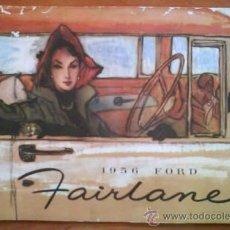 Coches y Motocicletas: CATALOGO USA FORD FAIRLANE 1956. Lote 36058326