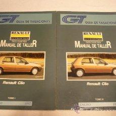 Coches y Motocicletas: RENAULT CLIO MANUAL DE TALLER 2 TOMOS 1992. Lote 36075666