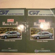 Coches y Motocicletas: CITROEN XANTIA MANUAL DE TALLER TOMOS I Y II 1994. Lote 36076945