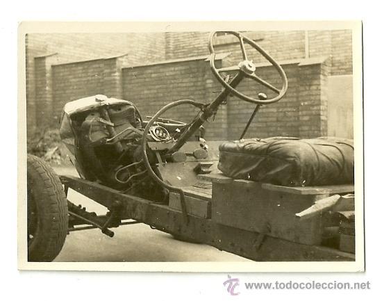 Coches y Motocicletas: LOTE DE 5 FOTOS DE COCHE AUTO CHEVROLET (ACCIDENTADO 1948, FOTO AMPLIACIÓN MASANA, MANRESA) - Foto 6 - 36277086