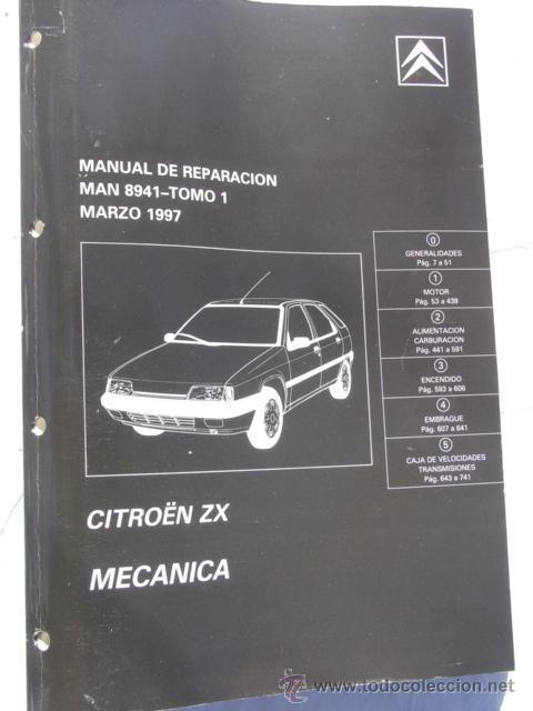 Manual De Taller Citro U00ebn Zx